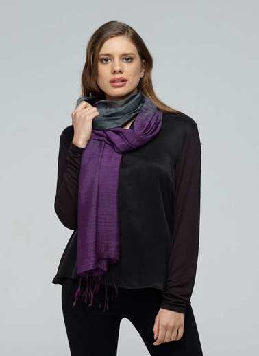 Silk and Cashmere Fular Mor
